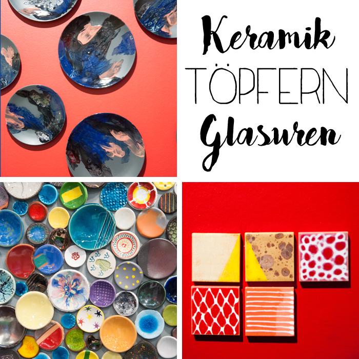 Trends von der Creativeworld Messe 2017: Keramik_töpfern_glasuren