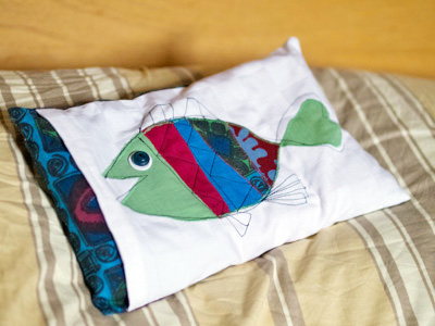 Heißer Fisch im kalten Sommer