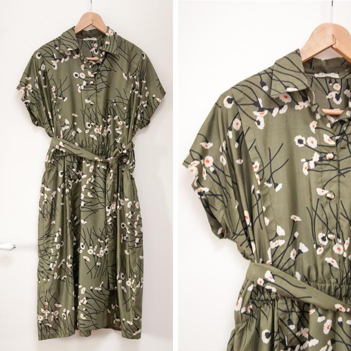 japanisch anmutendes Kleid