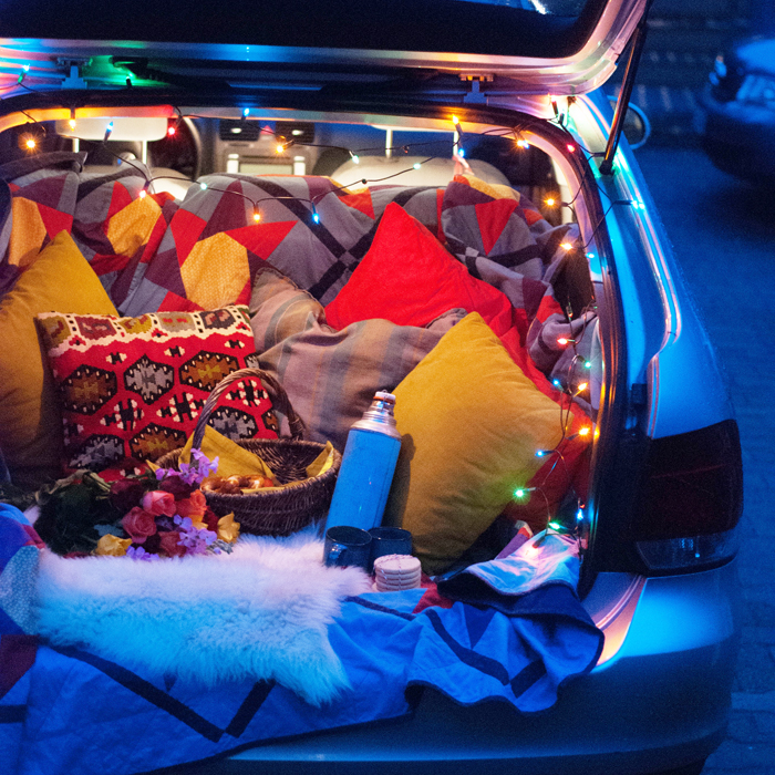 "DIY Picknick im Auto ""Post sponsored by Volkswagen"""