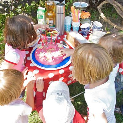 Sommerparty für Kinder