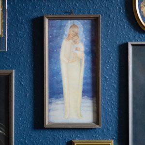 Flohmarktfunde: Madonna mit Kind Bild