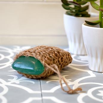 DIY Massageschrubbel oder auch: Gestrickter Seifenbeutel