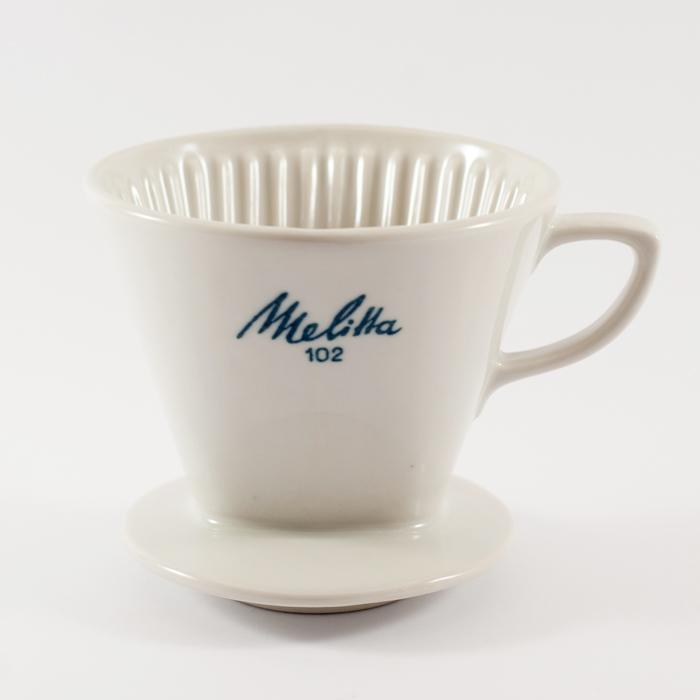 Flohmarktfunde: Melitta 102 Kaffefilter aus Porzellan