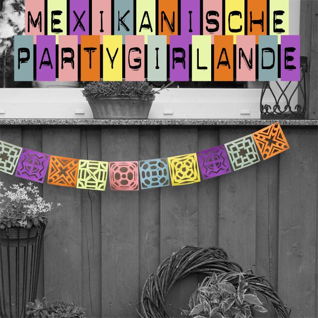 Mexikanische Partygirlande