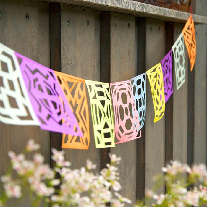 Viva Fiesta! Diese DIY mexikanische Partygirlande zaubert südamerikanisches Flair auf jede Party! Ein Tutorial von johannarundel.de