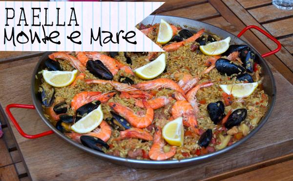 Mitbringsel aus dem Frankreichurlaub mit Freunden: ein geniales Paella Rezept!