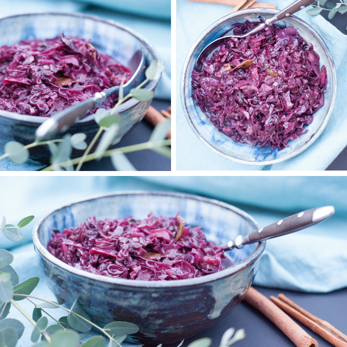 Herbst und Winter ist Rotkraut Zeit! Und damit die Zubereitung besonders schnell geht, gibts hier mein Rezept für Rotkohl aus dem elektrischen Schnellkochtopf.