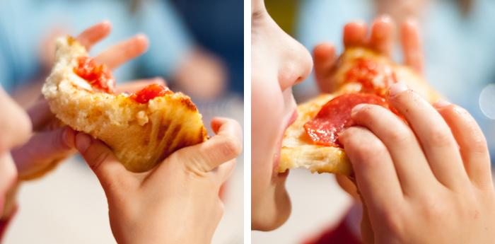 Tolles Rezept für einen Paleo-Pizza-Boden, der wirklich schmeckt. Ganz ohne Mehl, Gluten, Laktose und raffinierten Zucker. Das schmeckt sogar den Kids! Ein Rezept von johannarundel.de