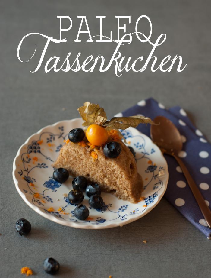 Tassenkuchen – geht auch auf Paleo