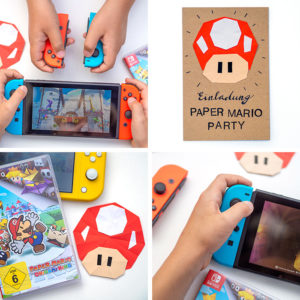 Kennst du den süßen Pilz Toad aus der Nintendo Paper Mario Welt? Ich zeige dir, wie du ihn aus Papier falten kannst und daraus eine Party-Einladung oder eine Girlande bastelst. Mit Schritt-für-Schritt-Anleitung auf johannarundel.de
