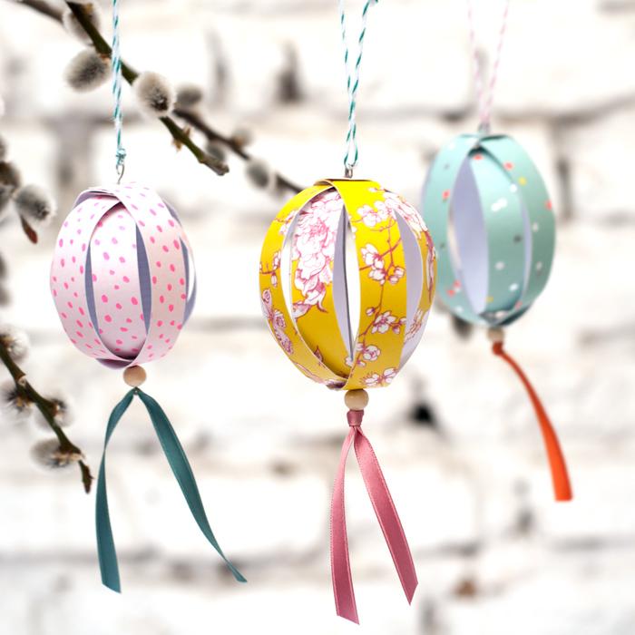 Zauberhafte Frühlingsdeko: DIY Ostereier aus Papier