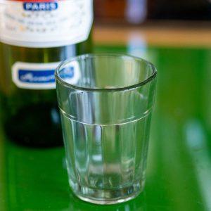 Flohmarktfunde: Pastisglas