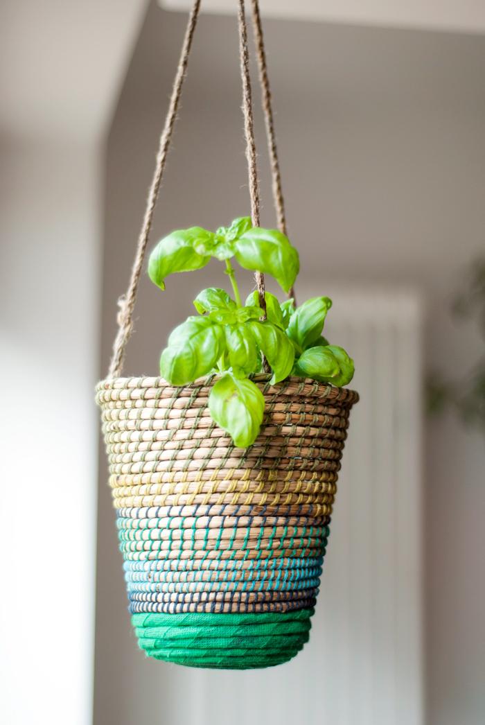 Flohmarktfund: Pflanzenhaenger