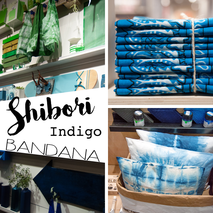 Trends von der Creativeworld Messe 2017: Shibori_Blau