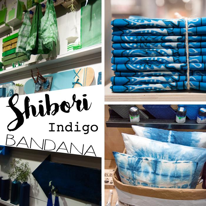 Trends von der Creativeworld Messe 2017: Shibori_Blau