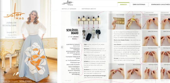 Veröffentlichung von johannarundel.de im SisterMag No.: 17