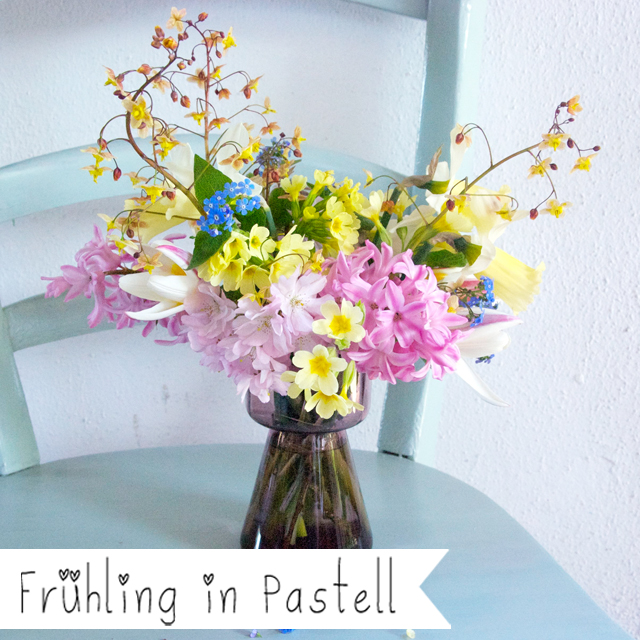 Friday Flowers – der Frühling in Pastell!