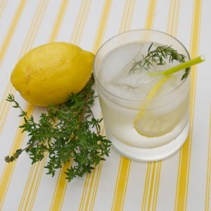 Thymian-Limonade