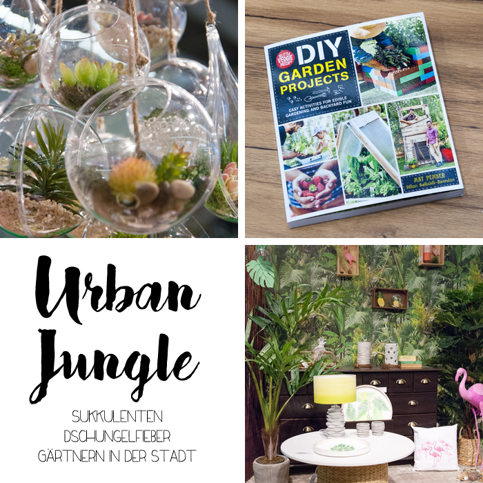 Trends von der Creativeworld Messe 2017: UrbanJungle