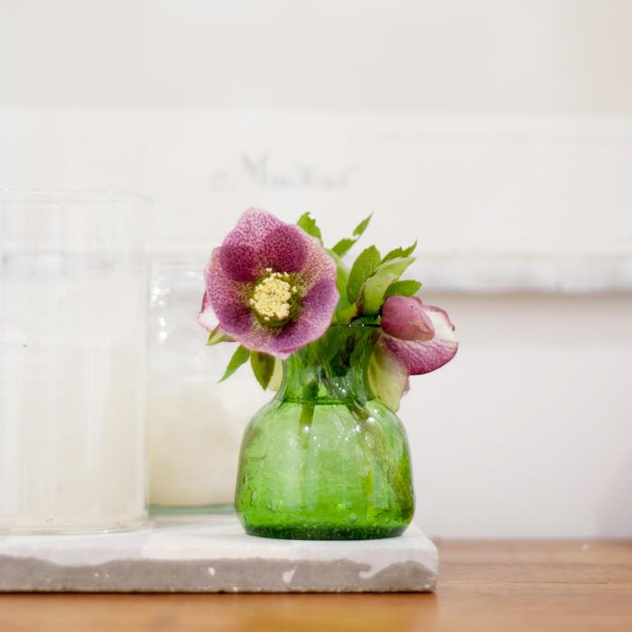 Flohmarktfund: grüne Mini-Vase