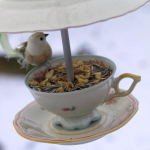 Gedeck für die Vögel