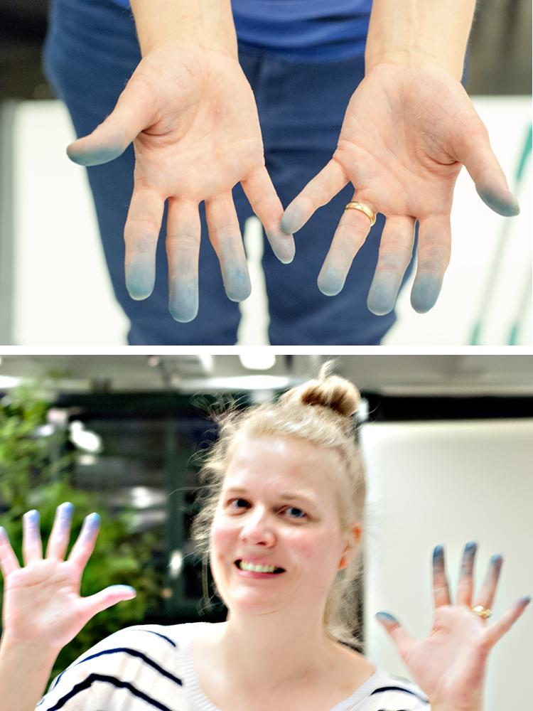 Shibori_Workshop_blaue_Finger