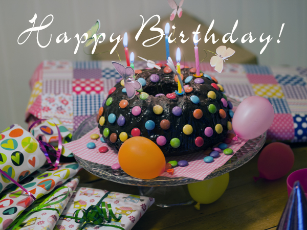 Happy Birthday großes Mädchen!